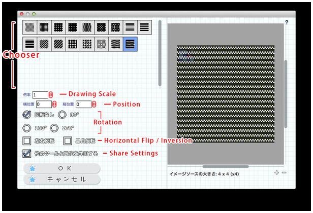 http://pixelliner.sakura.ne.jp/img/prompt_pattern.png